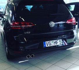 VW Golf VII GTD DSG